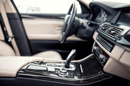 Innenraum eines Autos.
